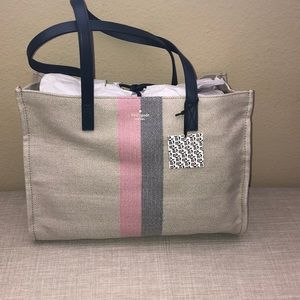 Kate spade 25 year reimagined tote named Sam.
